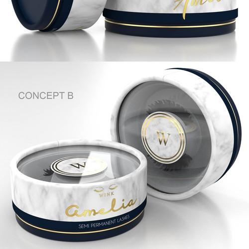 Packaging Design for False Eyelashes