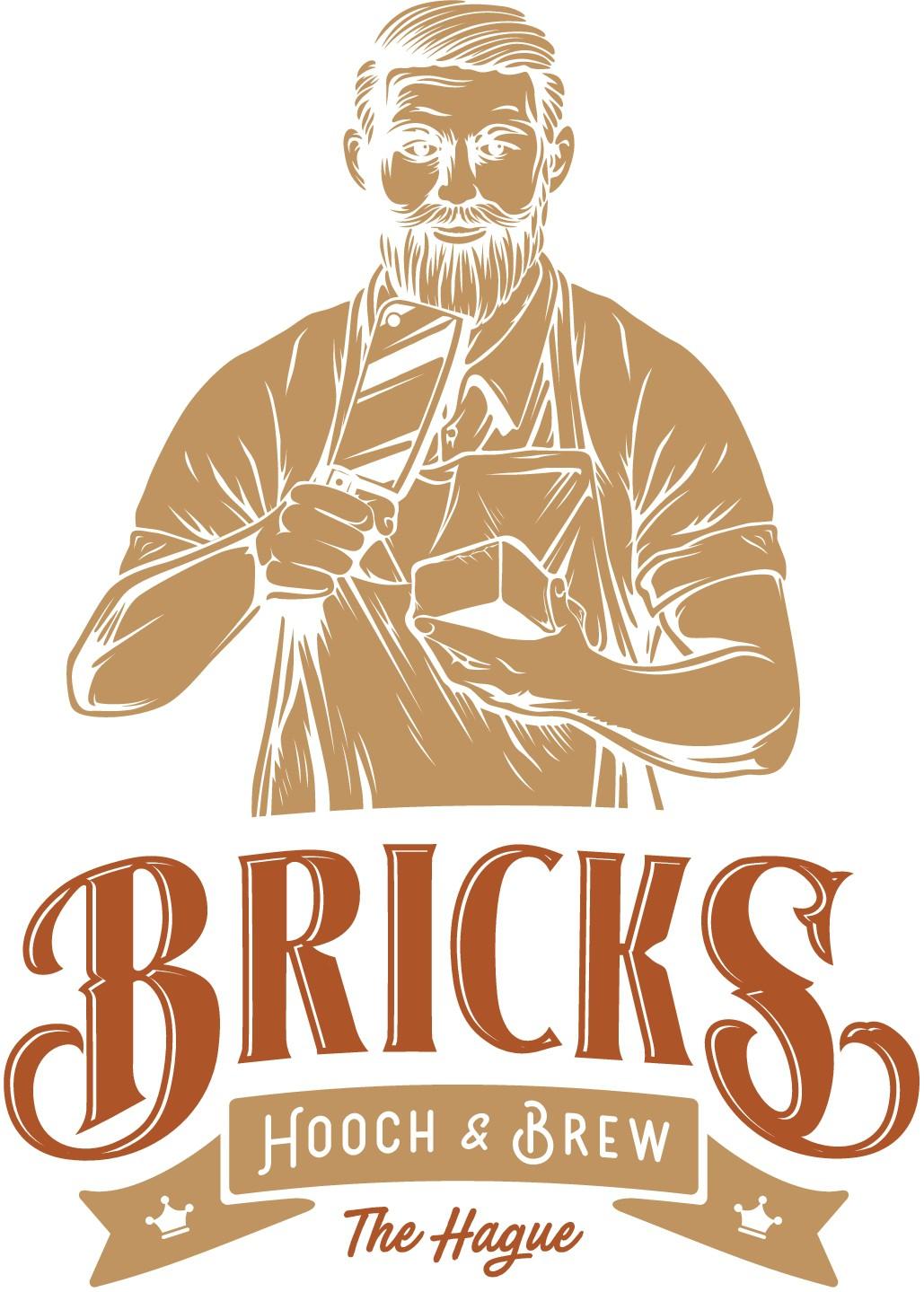 Logo for 'top 10 to be' cocktailbar 'Bricks'
