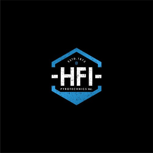 hipster logo for HFI
