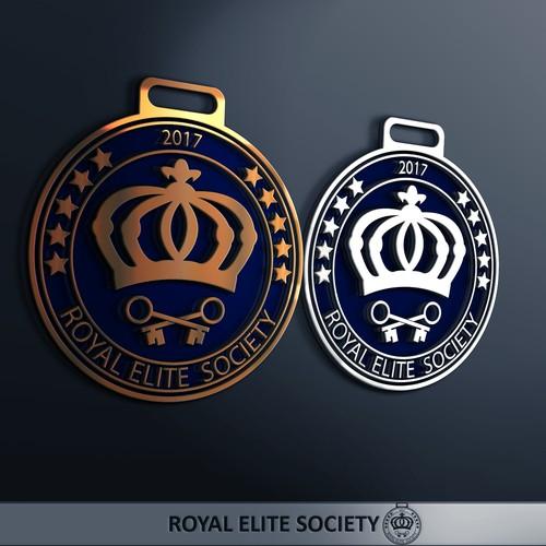 Award Medal for Royal Elite Society