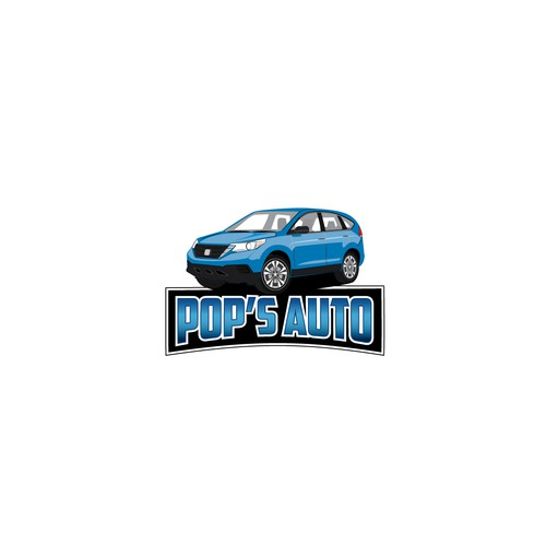 A logo for a family business that does auto sales