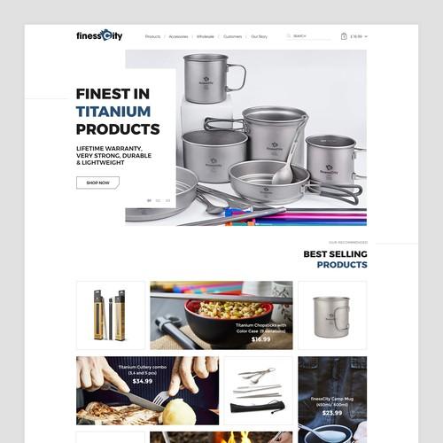 Modern E-Commerce Website