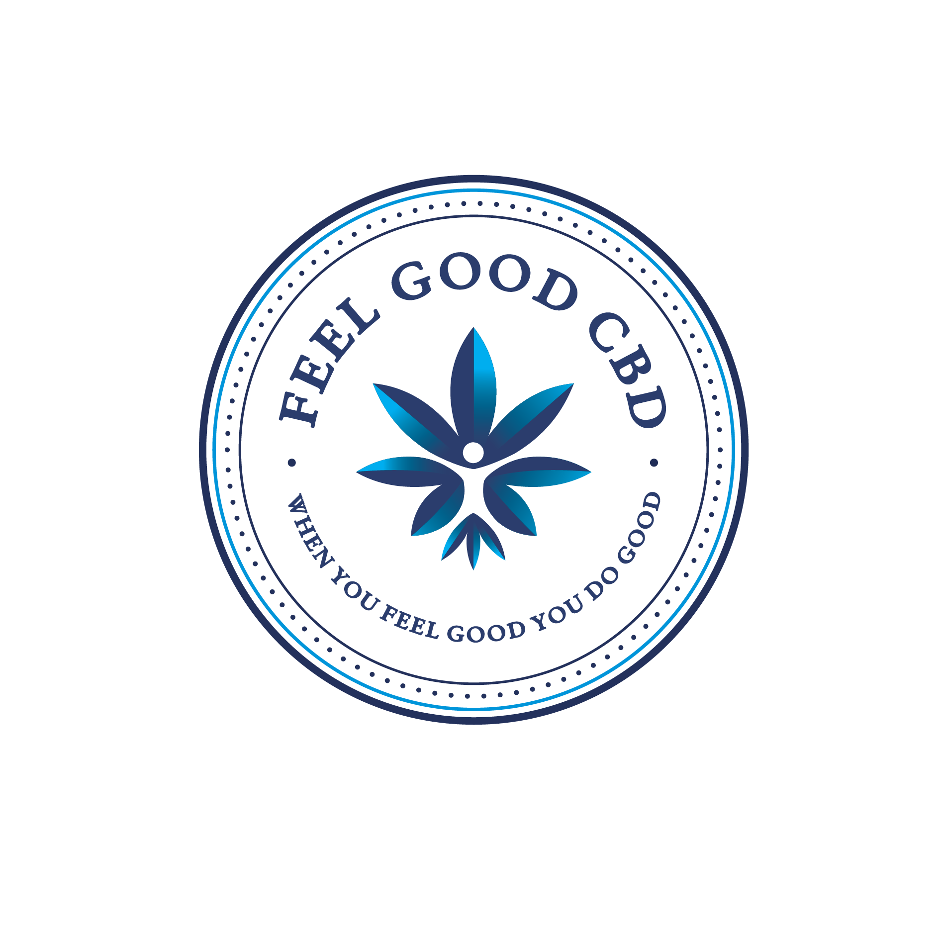 Design a high-vibe logo for Feel Good CBD