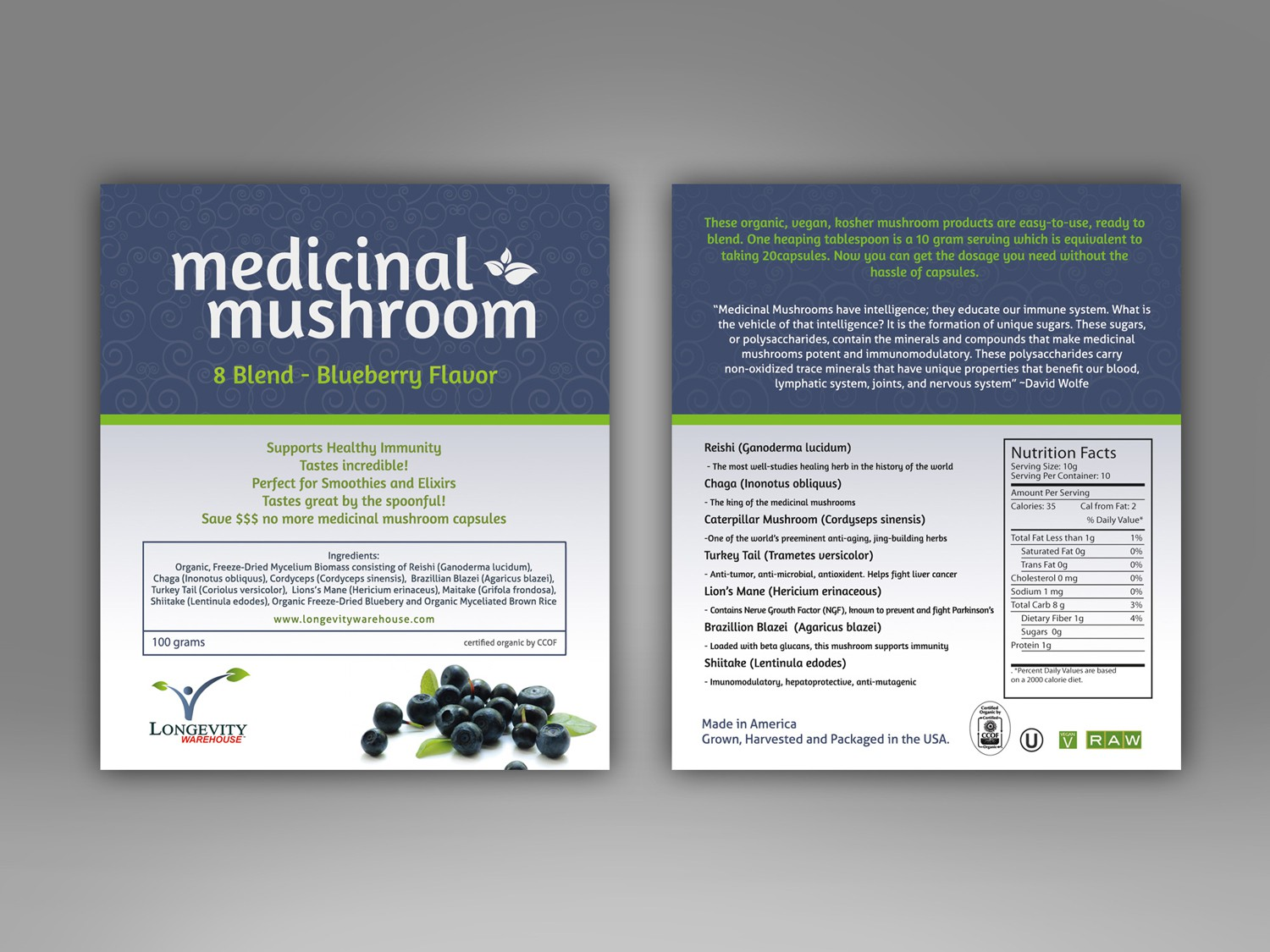 Label Redesign for Health Food Product