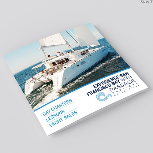 Brochure Design for Passage Nautical Enterprises