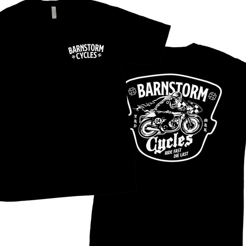 Unused design for Barnstorm