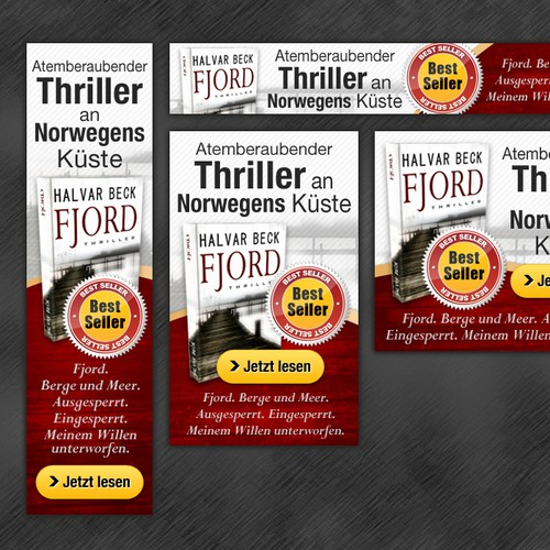Tyroweb/Book Publishing needs static banners for book promotion