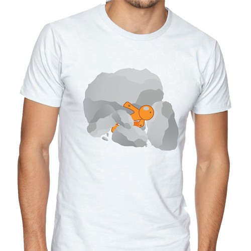 Struggle Illustration T-shirt