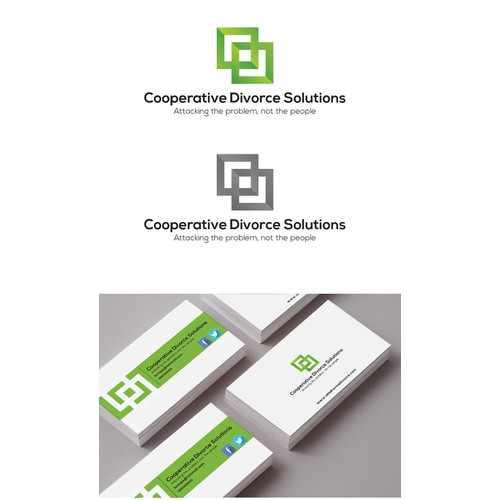New logo and business card wanted for Cooperative Divorce Solutions
