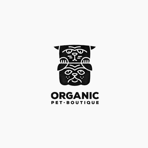Logo for Organic Pet Boutique