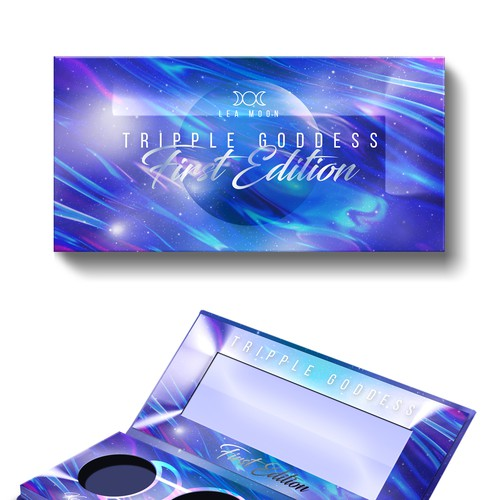 makeup highlighter palette packaging