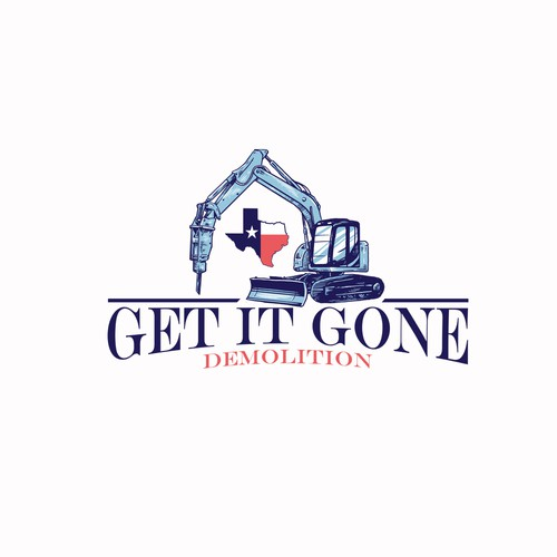 get it gone demolition logo