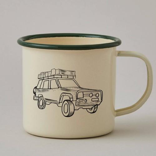 咖啡杯的插图