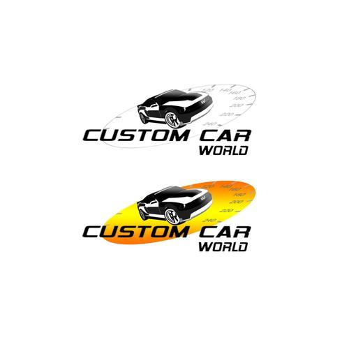 Create a LOGO for Custom Car World
