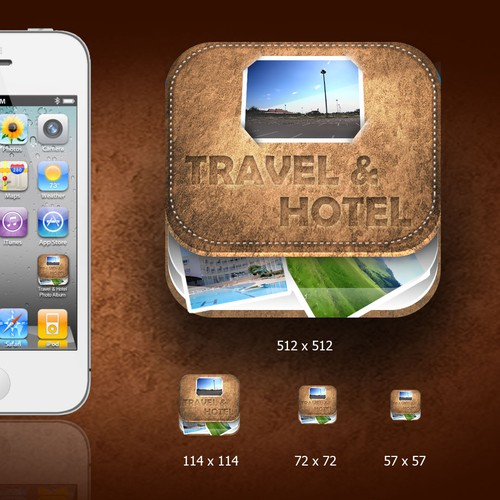 Travel & Hotel IOS Icon