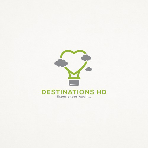 Logo concept for Destinations HD