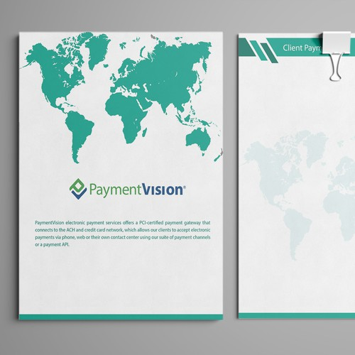 Payment Vision Stationery