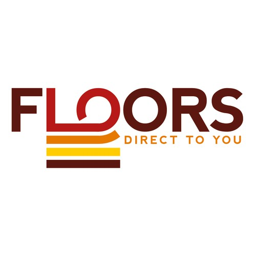 Floors. Logo design