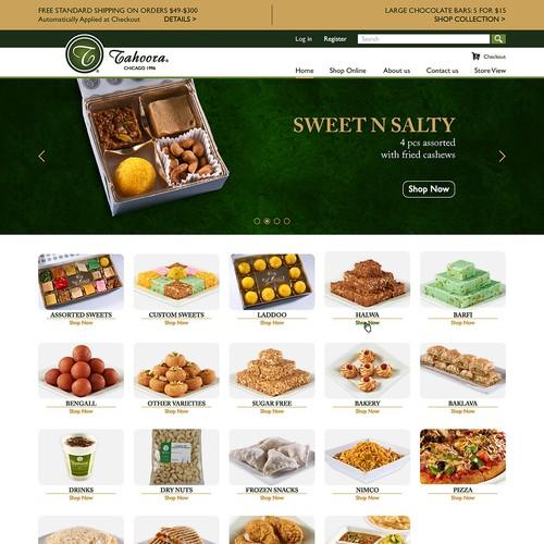 Tahoora Website