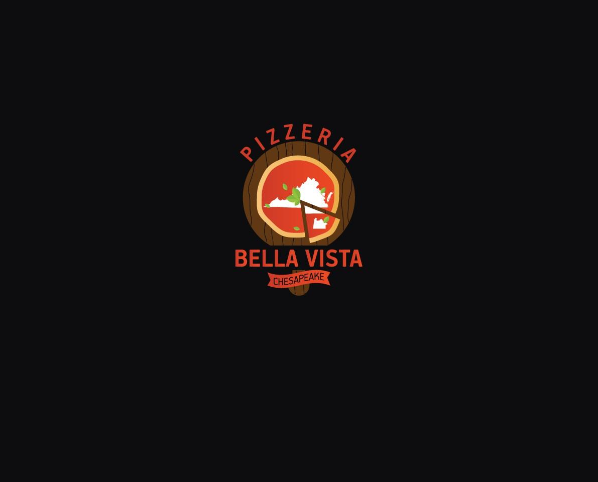 Pizzeria Bella Vista Shirt Logo