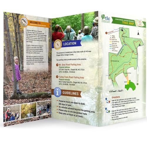 99nonprofits: Snazzy Nature Preserve Brochures for Conservation Nonprofit