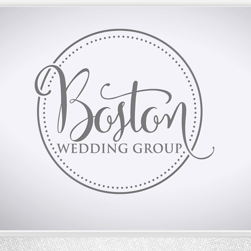 Elegant logo for wedding company