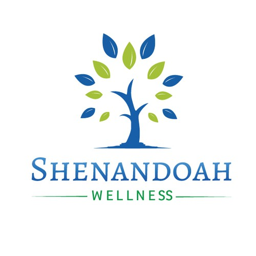 Health and wellness company logo.