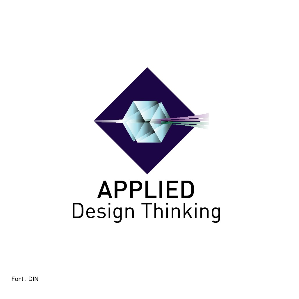 Create a Design Thinking logo for start-up tech company