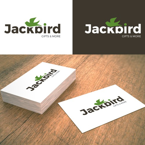Jackbird logo design