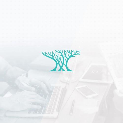 Abstract conceptual logo