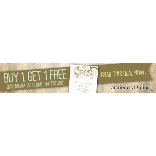 Wedding Invitations - Group Buying Banners