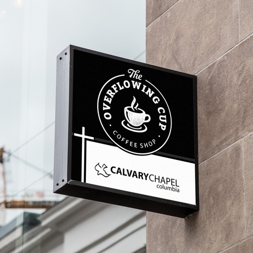 Calvary Church Coffee Shop Sign