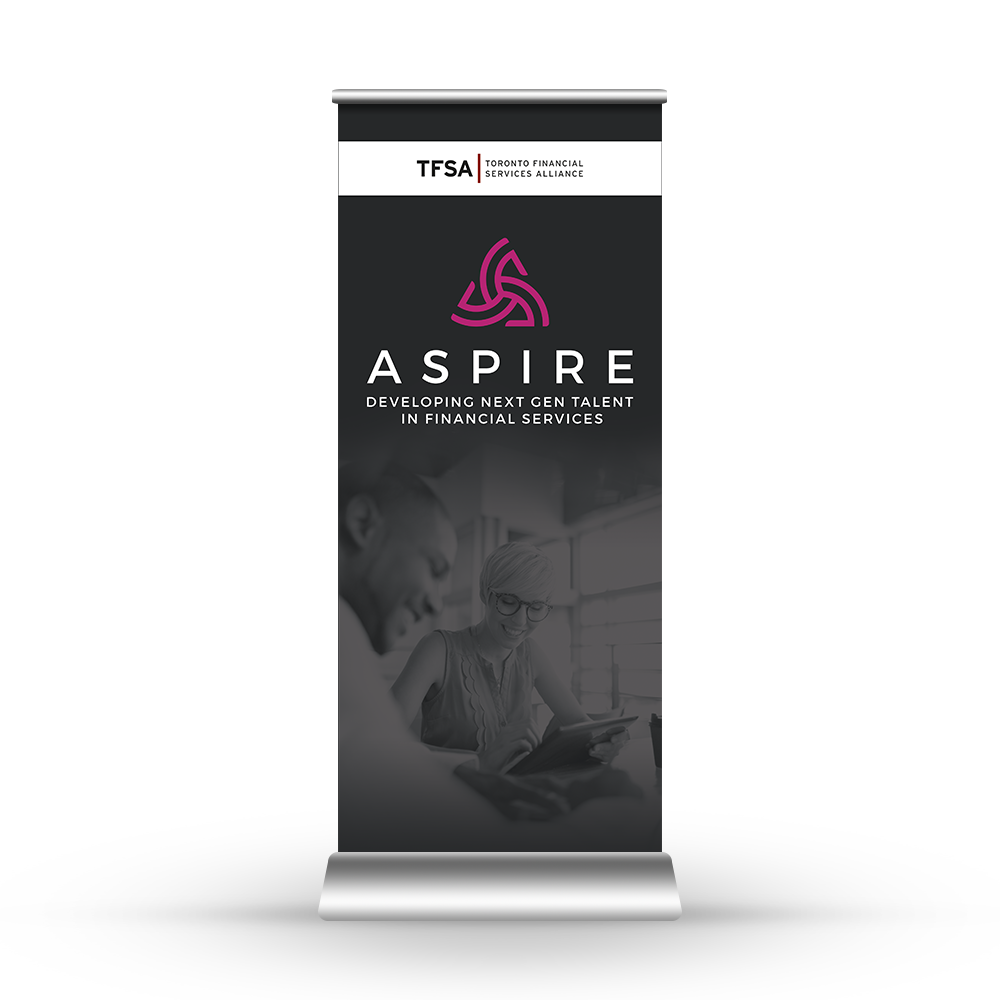 Aspire additional logo&slogan options + pullup banner.