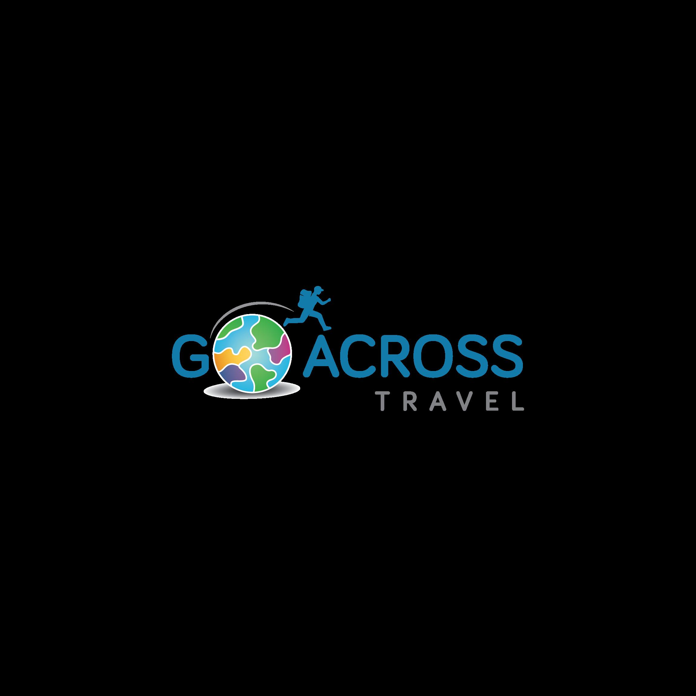 Design a inspirational logo for Go Across Travel