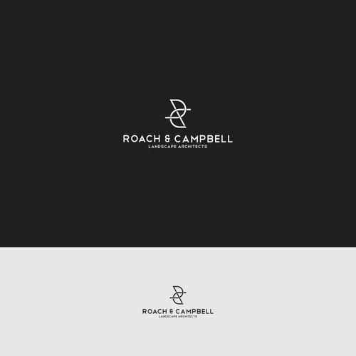Roach Campbell landscape architecture logo design