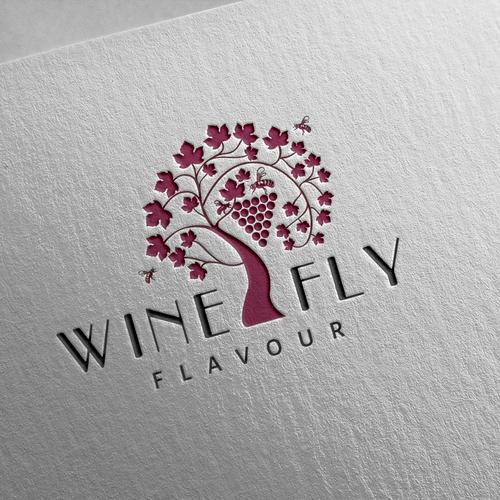 Logo for wine