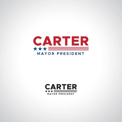 Political Logo for Carter Mayor President