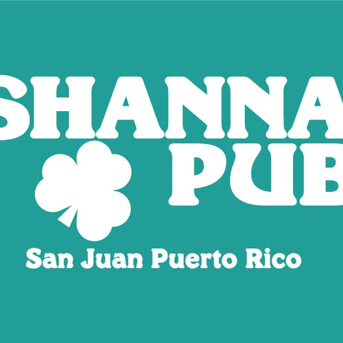Shannans Pub Lettering