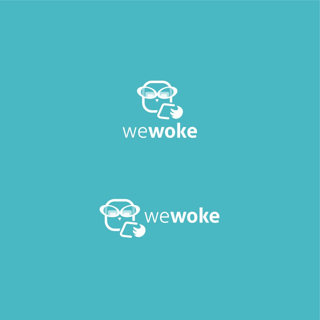 Logo for new application - WeWoke - Keeping parents informed about what their children are doing
