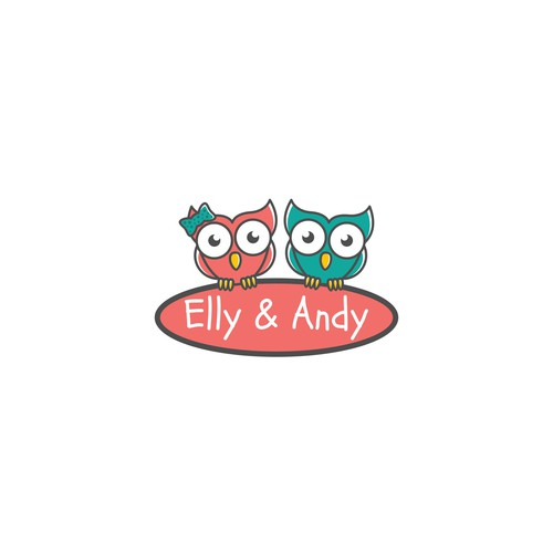 logo for Elly & Andy