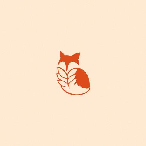 Simple fox icon