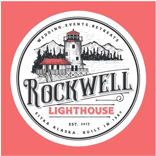 Logo for Rockwell Lighthouse