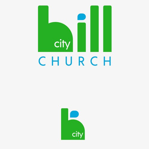 Hill City Church Logo Concpet