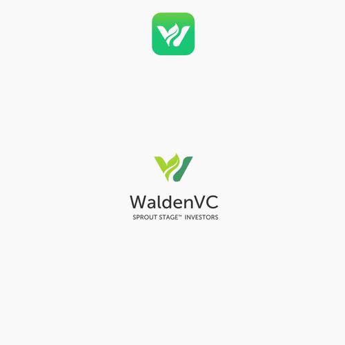 Letter logo for investors