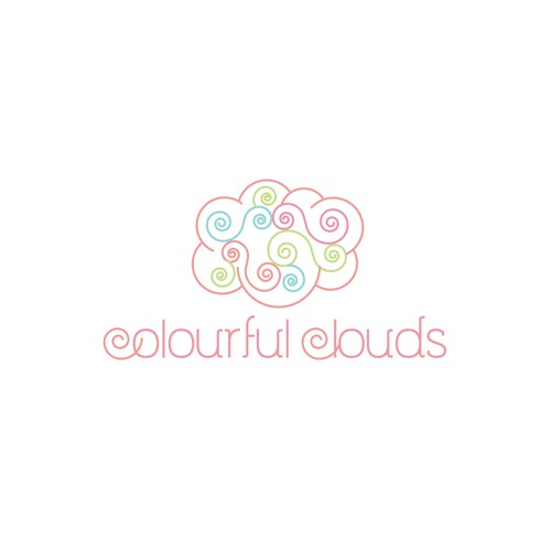 """Colourful clouds"" needs a logo"