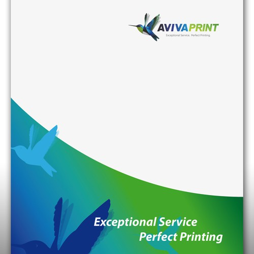 Help AVIVA PRINT PTY LTD with a new product label