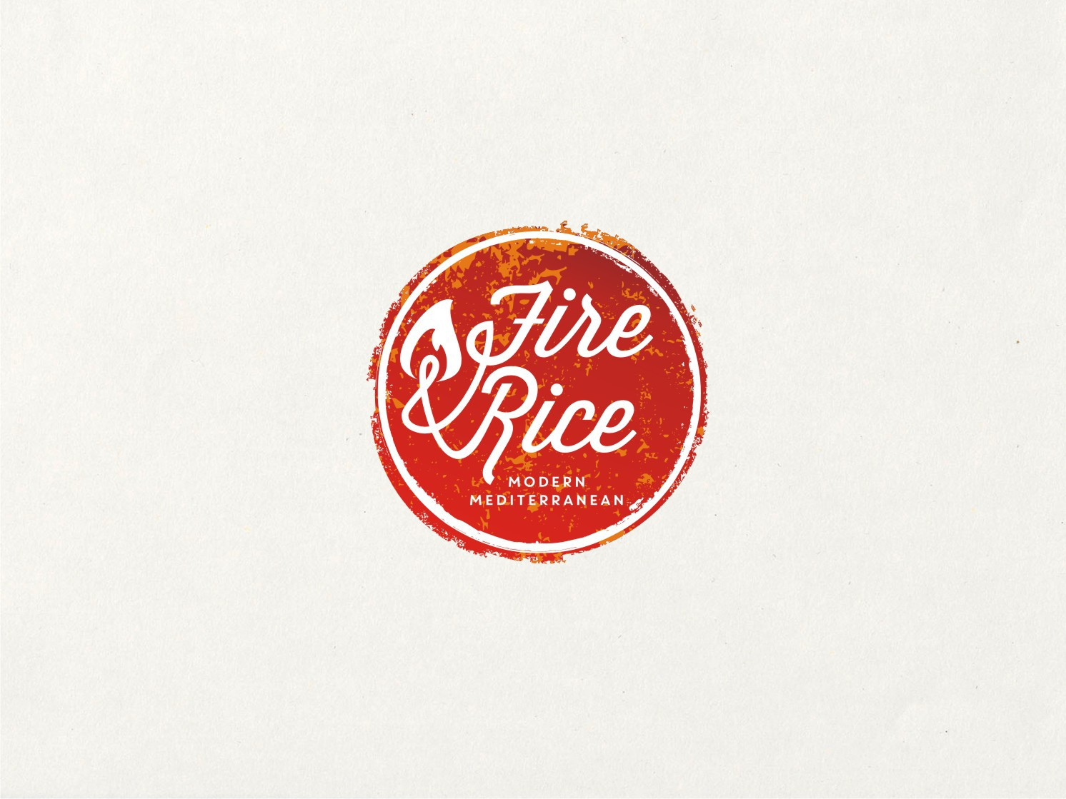 Clean, modern logo for New York City food concept