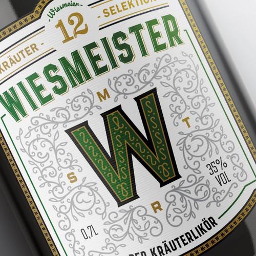 Herb-Liquor Label Design