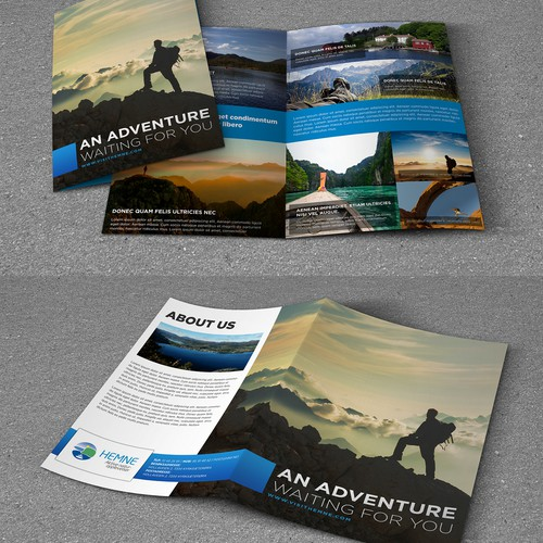 Create a winning brochure for visithemne