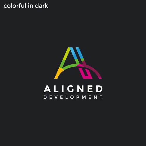 Line based monogram design